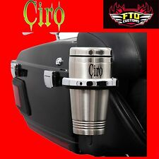 Ciro Black cup holder for 14'-up Ultra Electra Glide 50522