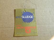 ancien étiquette de vidange garage huile caltex anti sludge