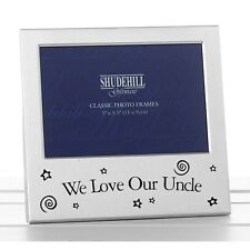 """Photo Frame -  WE LOVE OUR UNCLE  5"""" x 3.5"""" *NEW* Gift"""