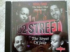CD Jazz Disc 2 The Street that never Slept 52nd Street The Street of Jazz