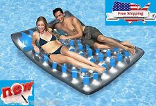 Poolmaster Water Float relaxing in the Pool Fun Double Mattress lounge Lounger