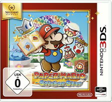Nintendo 3 DS Spiel: Paper Mario 3DS SELECTS NEU & OVP PAL Version