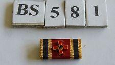 Bandspange Bundesverdienstkreuz 1.Klasse 25mm zum Aufschieben (BS581-)