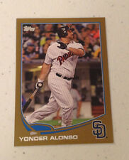 2013 Topps Mini YONDER ALONSO GOLD #52/62 Made Padres #223 Online Exclusive
