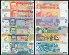 2009 60th Year of Central Banking in the Philippines 20-100 Pesos Set Banknote