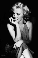 Marilyn Monroe Sitting Poster Print Wall Art Home Decor Memorabilia