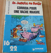 Soft Cover French Book Corrida Pour une Vache Maigre Dargaud 16/22 No.53