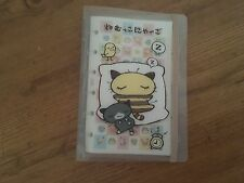 Sanrio Nyago Cat  Spiral Address, Sticker Note Book Collectible Vintage 2000,NEW