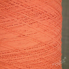 EXCLUSIVE SOFT GIMP COTTON YARN CORAL PINK 500g CONE 10 BALLS KNIT WEAVE CROCHET