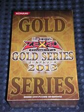 NEW YuGiOh ZEXAL OCG GOLD SERIES 2013 BOX CG1373 Booster KONAMI JAPAN FREE SHIP