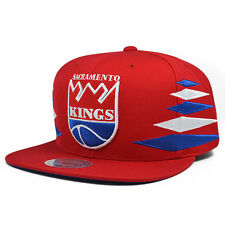 Sacramento Kings SOLID DIAMOND Red Snapback Mitchell & Ness NBA Hat