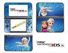 SKIN AUTOCOLLANT - NINTENDO NEW 3DS XL - REF 194 LA REINE DES NEIGES
