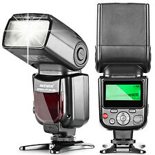 Neewer NW580/VK750 Speedlite Flash with LCD Display for Canon & Nikon Cameras