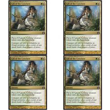 4 x CALL OF THE CONCLAVE NM mtg Return to Ravnica Gold - Sorcery Unc