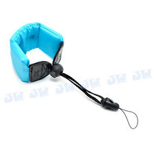 BLUE FLOATING FOAM STRAP FOR OLYMPUS TG-310 TG-610 CANON POWERSHOT D20 JJC