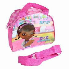 Disney Doc McStuffins zip up Bowling Bag with Shoulder Strap