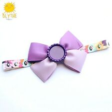 My Little Pony Bow Soft Head Bands with customizable centerpiece