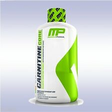 MUSCLEPHARM LIQUID CARNITINE CORE (16 OZ) metabolize reduce fat burner energy mp