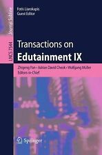 Lecture Notes in Computer Science: Transactions on Edutainment IX 7544 (2013,...
