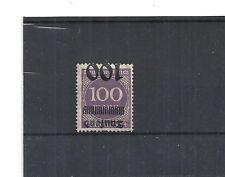 Deutsches Reich, 1923 Michelnummer: 289 a K *, ungebraucht *, Katalogwert € 35