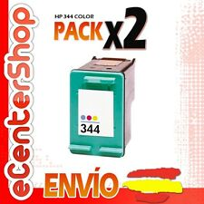 2 Cartuchos Tinta Color HP 344 Reman HP PSC 2355 P