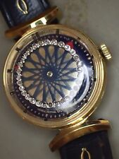 Rare Original Ernest Borel Kaleidoscope Mystery Dial Woman's Watch#35