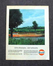 H155 - Advertising Pubblicità - 1963 - GULF CARBURANTE