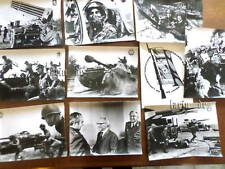 10 große DDR Fotos NVA UdSSR ( General in Uniform Panzer agains the enemy