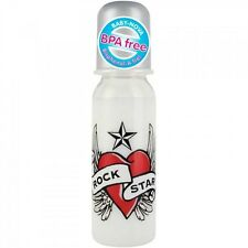 ROCK STAR BABY Heart & Wings Trinkflasche 250 ml