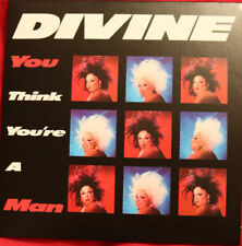 DIVINE: YOU THINK YOU'RE A MAN -CD Single 2015 Stock Aitken Waterman Box Set PWL