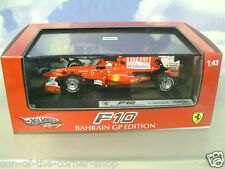 HOT WHEELS RACING 1/43 FERRARI F10 #7 FELIPE MASSA 2ND BAHRAIN GP 2010 T6290