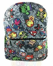 "Marvel Avengers Animator  All Printed 16"" Boys Large School Backpack  A09456"