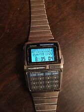 NEW NOS CASIO DBC-63 DATABANK TELEMEMO 50 MEMORY CALCULATOR WATCH 1994  VINTAGE