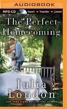Pine River: The Perfect Homecoming by Julia London (2015, MP3 CD, Unabridged)