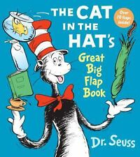 NEW The Cat in the Hat's Great Big Flap Book FREE SHIP