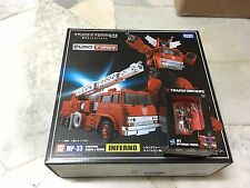 Masterpiece MP-33 Inferno Cybertron Search & Rescue FUSO T951 Truck Takara MISB