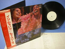 SUPREMES In Japan PROMO WHITE SWX-6031 VICTOR OBI G/F INSERT MOTOWN DIANA ROSS