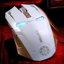 2.4GHz Wireless Rechargeable 2400DPI 6 Buttons Optical Gaming Game Mouse Mice