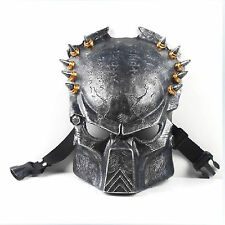 Alien vs Predator Mask AvP Movie Replica Collection Predators Prop Free P&P
