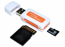 All In One Micro SD to USB Multi-Card Memory Card Adapter Reader Supports 64GB
