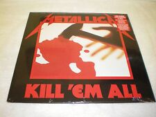 Metallica - Kill 'em All - NEW & SEALED VINYL LP - Blackened Records reissue