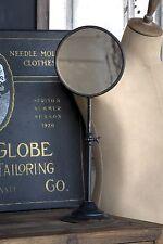 Vanity Mirror Stand Vintage Style Antique Black Metal Decor Industrial
