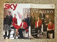Delta Airlines Sky Magazine 85th Anniversary Collector's Issue - June 2014