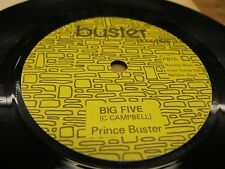 "BUSTER RECS. PB1, 7"" 45rpm PRINCE BUSTER 7"" ""BIG FIVE"" PORKY PRIME CUT. N.MINT!"
