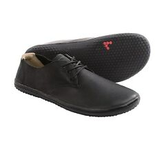 VIVOBAREFOOT RA II 2 Leather Shoes - Black, Minimalist EU 44 / 10 - 10.5 Men