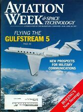 1997 Aviation Week & Space Technology Magazine: Flying The Gulfstream 5/Boeing