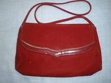 LOVELY LADIES SHOULDER BAG MADE IN N.S.W.by' FRENCH HANDBAG' CHERRY VELOUR