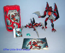 Lego Bionicle 8691 Phantoka ANTROZ (boxed) & 8947 RADIAK Complete & instructions