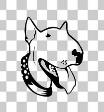 Bull Terrier Inglés Animal Mascota Cachorro coche van parachoques Ventana Laptop Decal Sticker