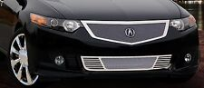 2009-2010 Acura TSX 2pc Fine Mesh Grille - Mirror Stainless Steel - E&G Classics